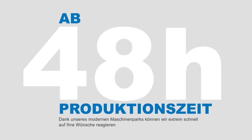 48 hour productiob