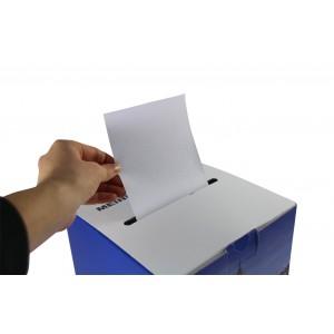 Gewinnspielbox mit Kartenschlitz oben