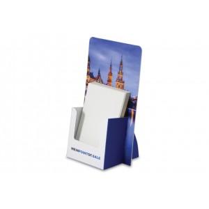 Thekenaufsteller mit Flyer-Fach für DIN A6/ DIN Lang