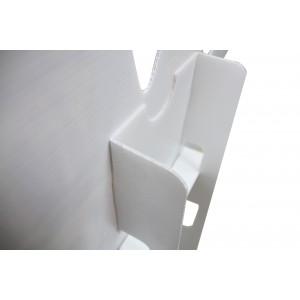 Figuraufsteller aus Kunststoff klein &  breit