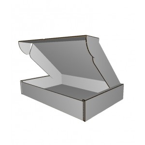 Falt- und Steck-Versandverpackung