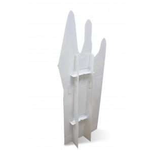 Figuraufsteller aus Kunststoff groß & breit