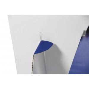 Thekenaufsteller mit Flyer-Fach für DIN A5